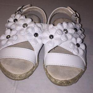 Slightly worn Allairey Sandal for little girls